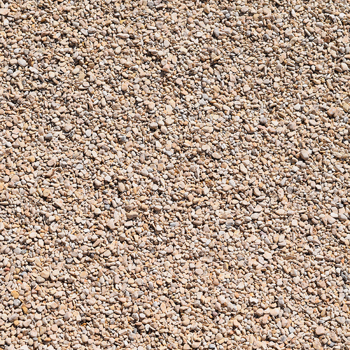 Pea Gravel White 3/8