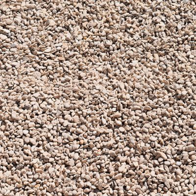 Pea Gravel White 5/8